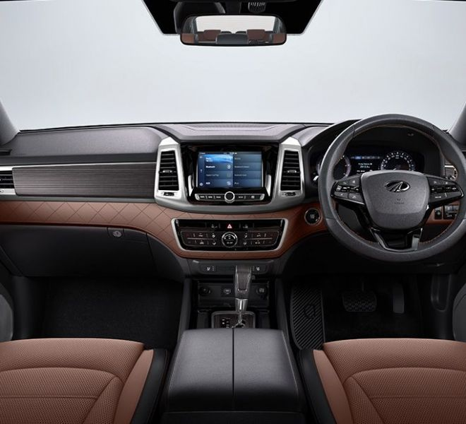 Automotive Mahindra Alturas G4 Interior-1