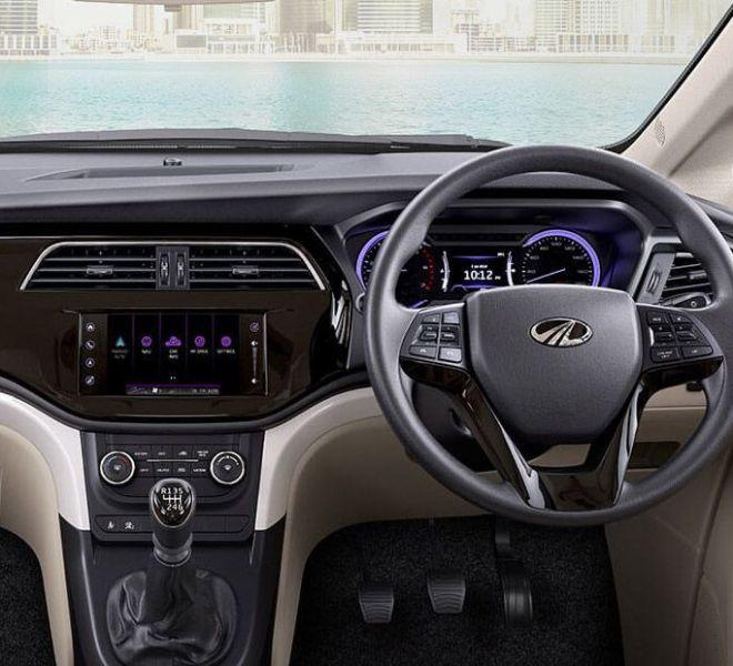 Automotive Mahindra Marazzo Interior-5
