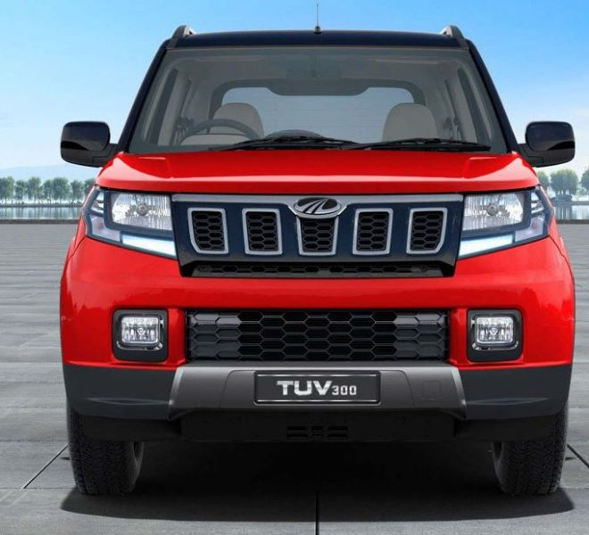 Automotive Mahindra TUV300 Exterior-1