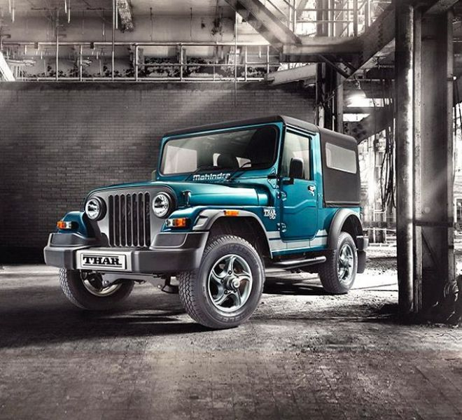Automotive Mahindra Thar Exterior-2
