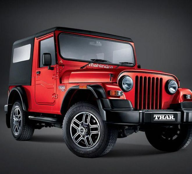 Automotive Mahindra Thar Exterior-6