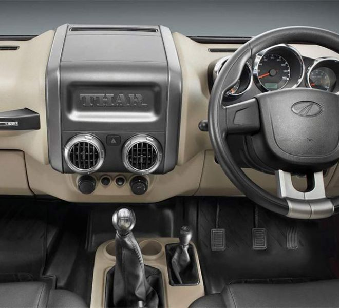 Automotive Mahindra Thar Interior-3