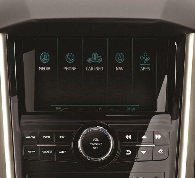 Automotive Mahindra XUV500 Interior-6